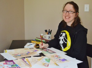 "Sarah ""Sakky"" Ruth Forde, Illustrator of the Barrett Family Wellness Center Sensory Book Series."